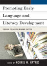 link and cover image for the book Promoting Early Language and Literacy Development: Striving to Achieve Reading Success
