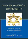 link and cover image for the book Why Is America Different?: American Jewry on its 350th Anniversary