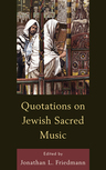 link and cover image for the book Quotations on Jewish Sacred Music