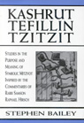 link and cover image for the book Kashrut, Tefillin, Tzitzit: The Purpose of Symbolic Mitzvot Inspired by the Commentaries of Rabbi Samson Raphael Hirsch