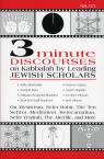 link and cover image for the book 3 Minute Discourses on Kabbalah by Leading Jewish Scholars