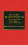 link and cover image for the book Feminist Jurisprudence: Emerging from Plato's Cave--A Research Guide