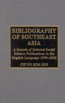 link and cover image for the book Bibliography of Southeast Asia: A Decade of Selected Social Science Publications in the English Language 1990 - 2000