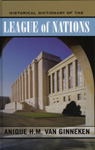 link and cover image for the book Historical Dictionary of the League of Nations