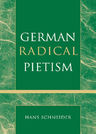 link and cover image for the book German Radical Pietism