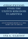 link and cover image for the book Emigration from the United Kingdom to America: Lists of Passengers Arriving at U.S. Ports, July 1871 - April 1872, Volume 4