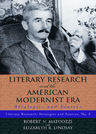link and cover image for the book Literary Research and the American Modernist Era: Strategies and Sources
