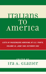 link and cover image for the book Italians to America, June 1903 - October 1903: Lists of Passengers Arriving at U.S. Ports, Volume 24