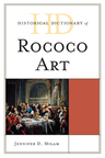 link and cover image for the book Historical Dictionary of Rococo Art