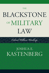 link and cover image for the book The Blackstone of Military Law: Colonel William Winthrop