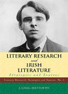 link and cover image for the book Literary Research and Irish Literature: Strategies and Sources