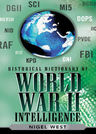 link and cover image for the book Historical Dictionary of World War II Intelligence
