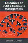 link and cover image for the book Essentials of Public Relations Management