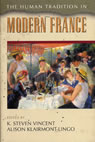 link and cover image for the book The Human Tradition in Modern France