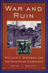 link and cover image for the book War and Ruin: William T. Sherman and the Savannah Campaign