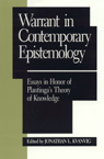 link and cover image for the book Warrant in Contemporary Epistemology: Essays in Honor of Plantinga's Theory of Knowledge