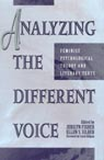 link and cover image for the book Analyzing the Different Voice: Feminist Psychological Theory and Literary Texts