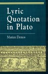 link and cover image for the book Lyric Quotation in Plato