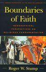 link and cover image for the book Boundaries of Faith: Geographical Perspectives on Religious Fundamentalism