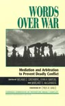 link and cover image for the book Words Over War: Mediation and Arbitration to Prevent Deadly Conflict