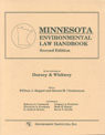 link and cover image for the book Minnesota Environmental Law Handbook, Second Edition