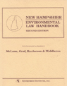 link and cover image for the book New Hampshire Environmental Law Handbook, Second Edition