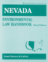 link and cover image for the book Nevada Environmental Law Handbook, Third Edition