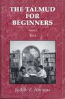 link and cover image for the book Talmud for Beginners: Text, Vol. 2