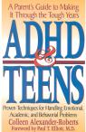 link and cover image for the book ADHD & Teens: A Parent's Guide to Making it through the Tough Years
