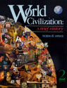 link and cover image for the book World Civilization: A Brief History, Second Edition