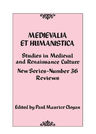 link and cover image for the book Medievalia et Humanistica, No. 36: Studies in Medieval and Renaissance Culture
