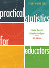 link and cover image for the book Study Guide for Practical Statistics for Educators, 4th Edition