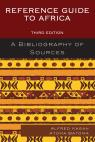 link and cover image for the book Reference Guide to Africa: A Bibliography of Sources, Third Edition