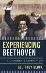 link and cover image for the book Experiencing Beethoven: A Listener's Companion