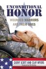 link and cover image for the book Unconditional Honor: Wounded Warriors and Their Dogs