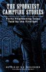link and cover image for the book The Spookiest Campfire Stories: Forty Frightening Tales Told by the Firelight