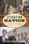 link and cover image for the book Litigation Nation: A Cultural History of Lawsuits in America