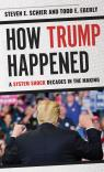 link and cover image for the book How Trump Happened: A System Shock Decades in the Making
