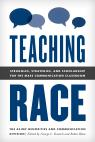 link and cover image for the book Teaching Race: Struggles, Strategies, and Scholarship for the Mass Communication Classroom