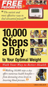 link and cover image for the book 10,000 Steps a Day to Your Optimal Weight: Walk Your Way to Better Health