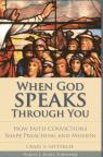 link and cover image for the book When God Speaks through You: How Faith Convictions Shape Preaching and Mission