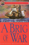 link and cover image for the book A Brig of War: #3 A Nathaniel Drinkwater Novel