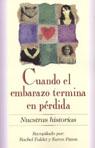 link and cover image for the book Cuando el embarazo termina en perdida: Nuestras Historias