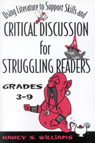link and cover image for the book Using Literature to Support Skills and Critical Discussion for Struggling Readers: Grades 3-9