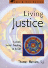 link and cover image for the book Living Justice: Catholic Social Teaching in Action