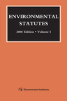 link and cover image for the book Environmental Statutes, 2008 Edition