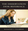 link and cover image for the book The Dissertation Desk Reference: The Doctoral Student's Manual to Writing the Dissertation