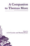 link and cover image for the book A Companion to Thomas More