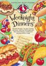 link and cover image for the book Weeknight Dinners: Meatless Monday, Tex-Mex Tuesday and more...with over 250 recipes and these clever themes, weekly meal planning will be a snap!
