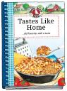 link and cover image for the book Tastes Like Home Cookbook